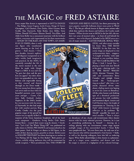 The Magic of Fred Astaire
