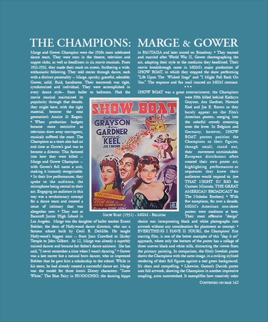 The Champions; Marge and Gower